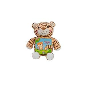 Tiger Mama & Me: Read & Snuggle (Children's Board Book with Plush) Board book