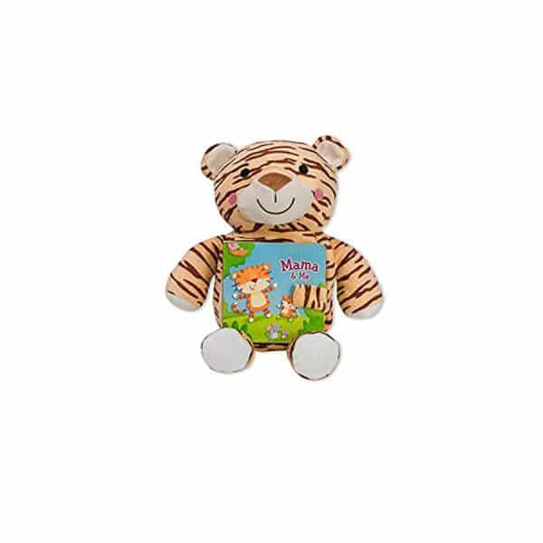 Tiger Mama & Me: Read & Snuggle (Children's Board Book with Plush) Board book