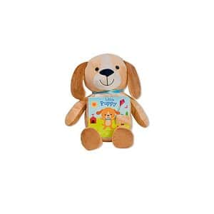 Little Puppy: Read & Snuggle (Children's Board Book with Plush) Board book
