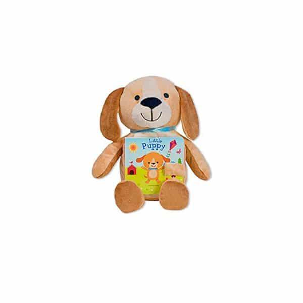 Little Puppy: Read & Snuggle (Children's Board Book with Plush) Board book