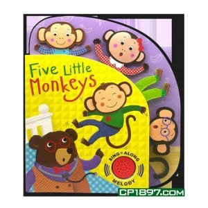 Five Little Monkeys (Sing-Along Melody) Board Book