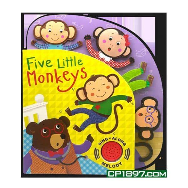 Five Little Monkeys (Sing-Along Melody) Board Book