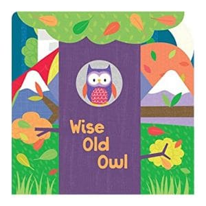 Wise Old Owl Board book