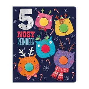 Five Nosy Reindeer Board book