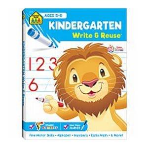 Kindergarten Write & Reuse Ages 5-6