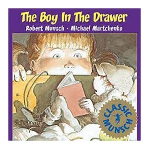 The Boy In The Drawer-Hard Cover