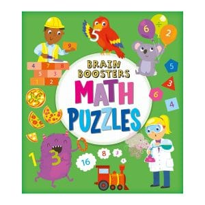 Brain Boosters: Math Puzzles Paperback