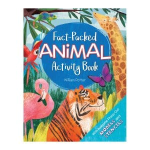 Fact-Packed Animal Activity Book Paperback