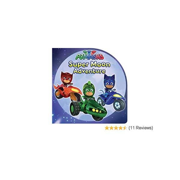 Super Moon Adventure (PJ Masks) Paperback
