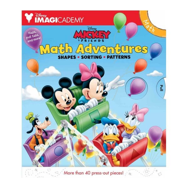 Disney Imagicademy: Mickey's Math Adventures Hardcover