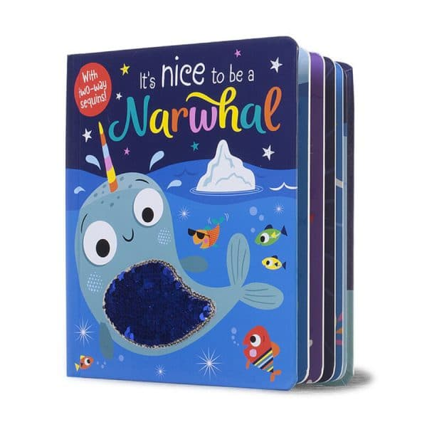 It's Nice to Be a Narwhal Board book