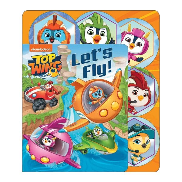 Nickelodeon Top Wing: Let's Fly! (Sliding Tab) Board book