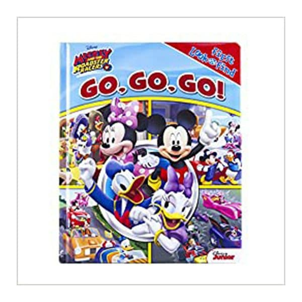 Mickey and The Roadsters Racer! Go, Go, Go! Board Book