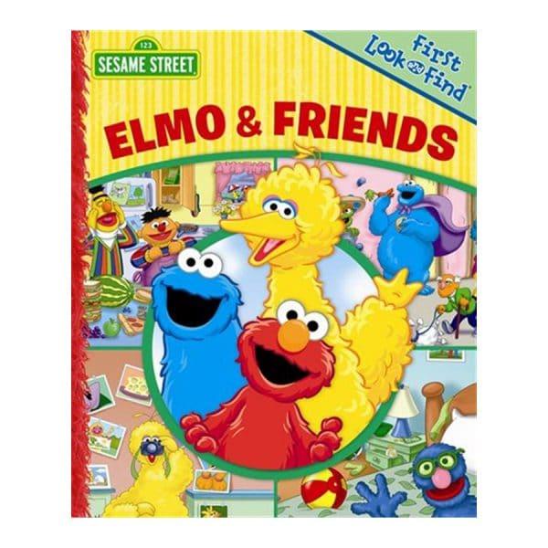 Elmo & Friends Board Book