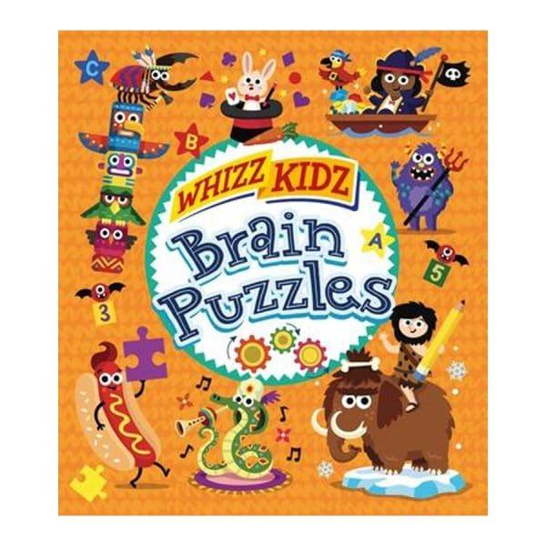 Whizz Kidz: Brain Puzzles Paperback