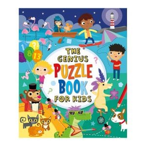 The Genius Puzzle Book for Kids Paperback