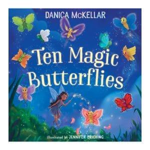 Ten Magic Butterflies Board book
