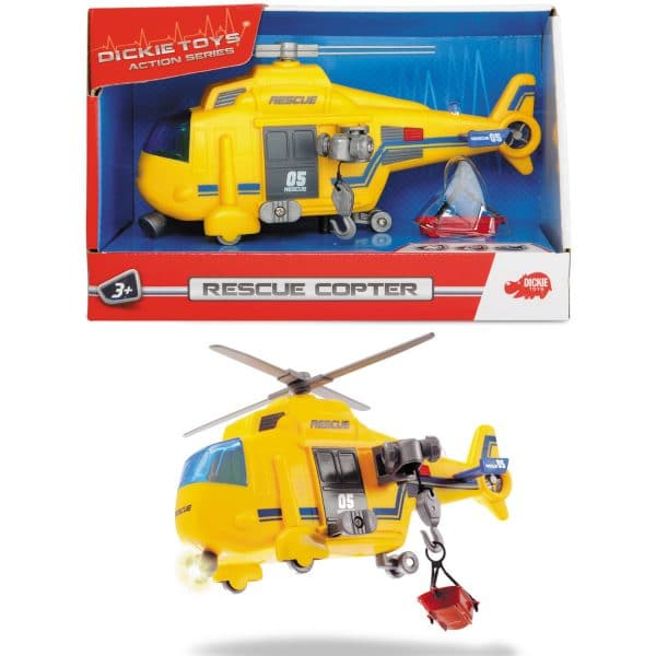 Rescue Copter Lights and Sounds Vehicle