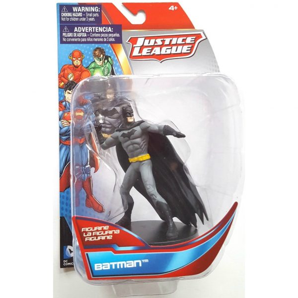 Justice League Action Pose Batman 4 Inch Figurine with Stand