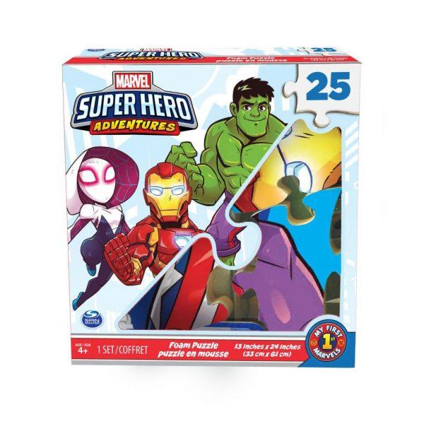 Marvel Superhero Adventures Foam Puzzle 25 Pieces