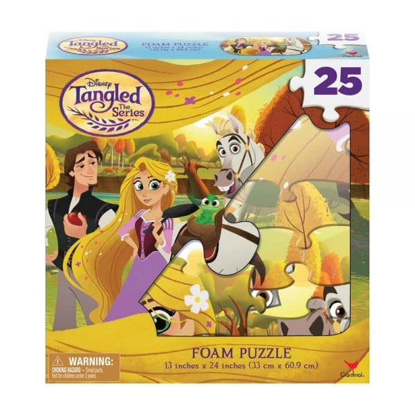 Disney Tangled Foam Puzzle 25 Pieces