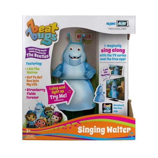 Beat Bugs Singing Walter