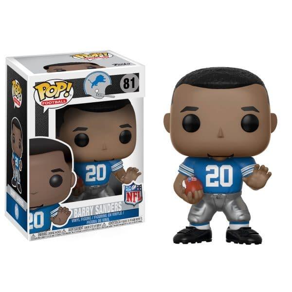 Pop NFL Football Figure Barry Sanders