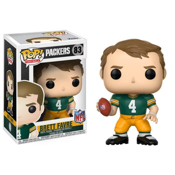 Pop NFL Football Figure Brett Favre