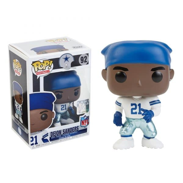 Pop NFL Football Figure Deion Sanders