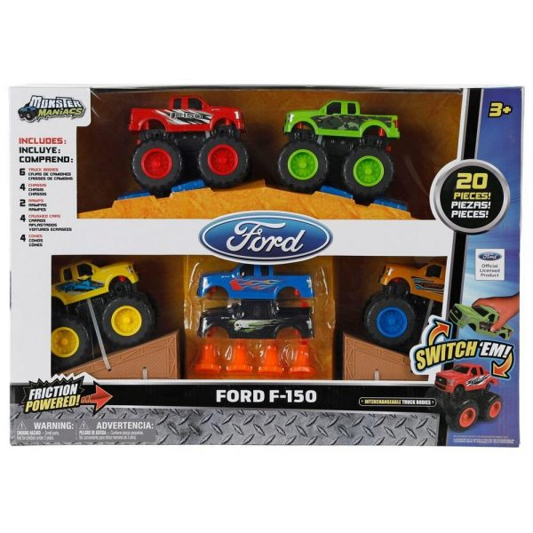 Ford F150 Monster Maniacs 20 Pcs Set