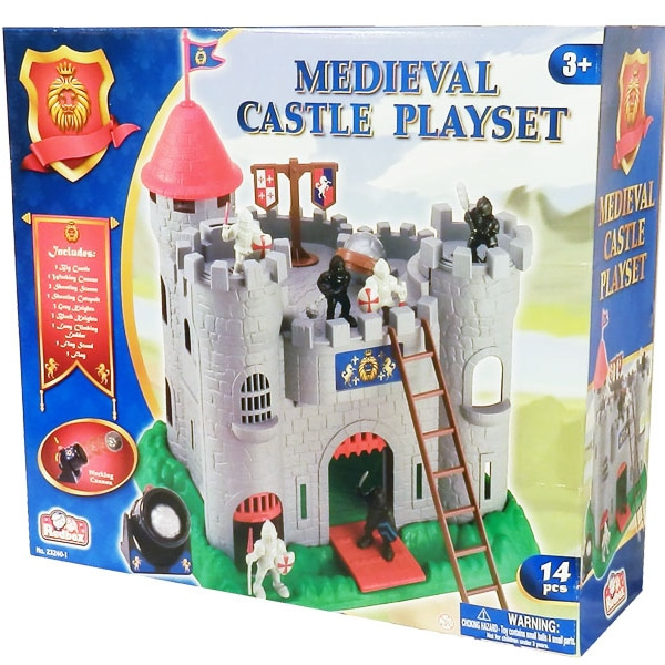 Medieval Castle Playset 14 pcs