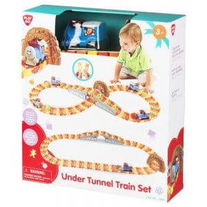 Playgo Under Tunnel Train Set