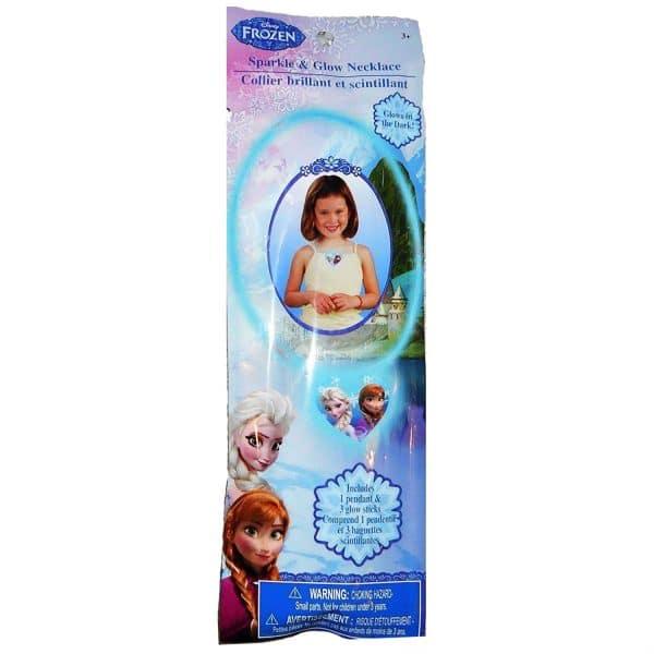 Disney Frozen Sparkle and Glow Necklace.021