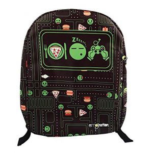 Emojination Eat Sleep Game Backpack 16 inch