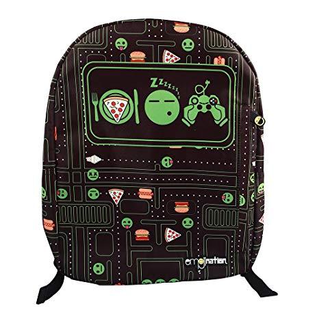 Emojination Eat Sleep Game Backpack 16 inch