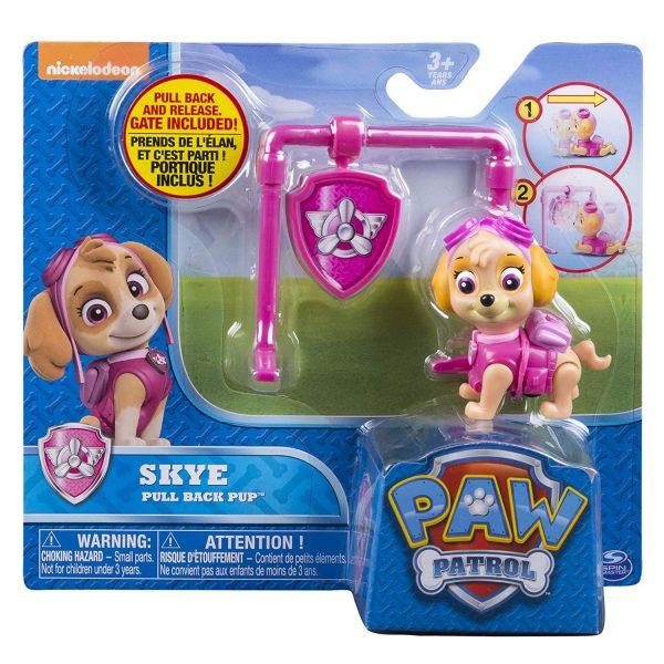 Paw Patrol Pull Back Pup Skye