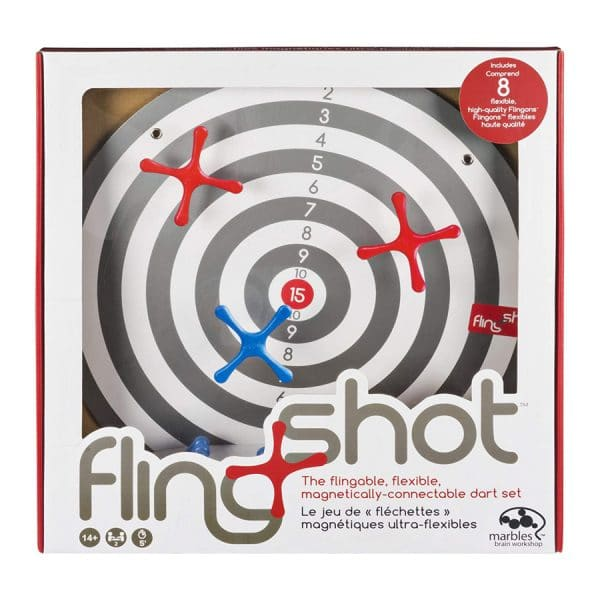 FlingShot -Interactive Dart Game with Magnetized Pieces