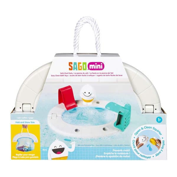 Sago Mini Yeti's Pool Party