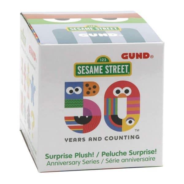 Sesame Street 50th Anniversary Surprise Plush Blind Box