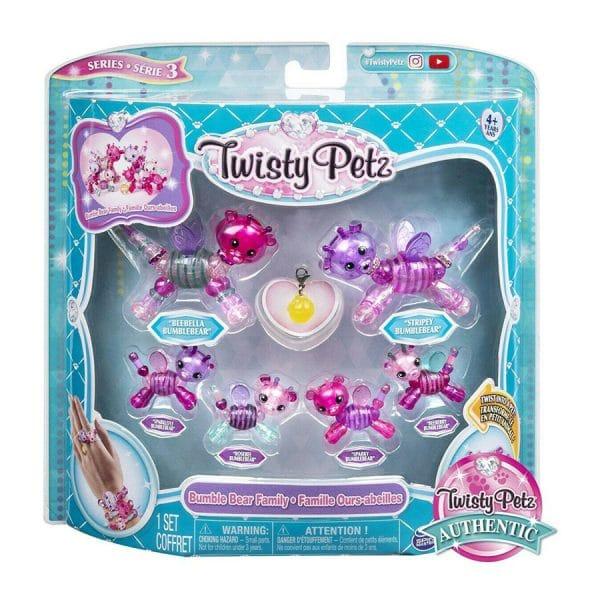 Twisty Petz Series 3 Bumble Bear Family