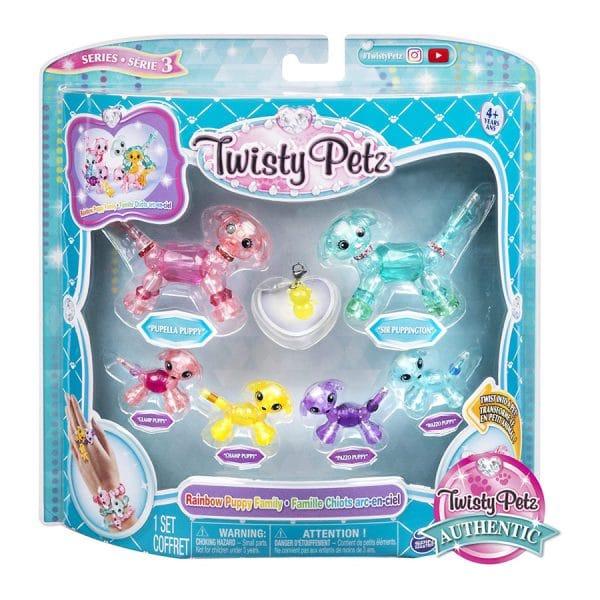 Twisty Petz Series 3 Rainbow Puppy Family