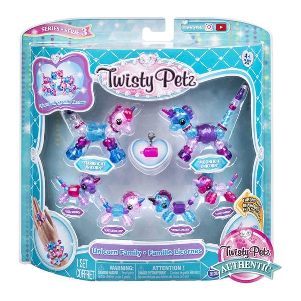 Twisty Petz Series 3 Unicorn Family