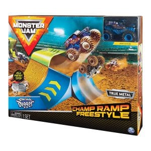 Monster Jam Champ Ramp Freestyle Playset