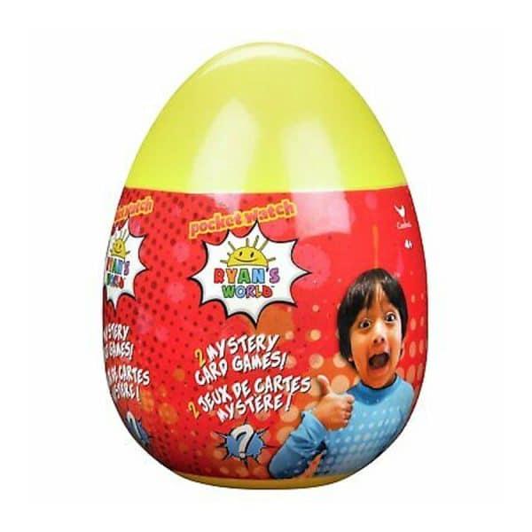 Ryan's World Mystery Card Games Egg
