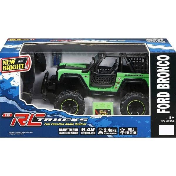 RC Full Function Trucks Ready to Run Ford Bronco Green