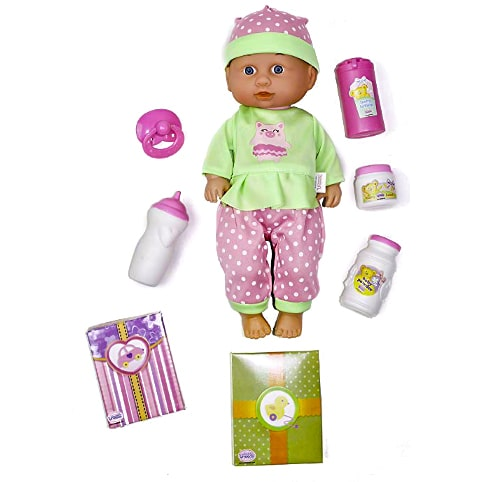13 inch Sweetums Doll n Stroller Gift Set