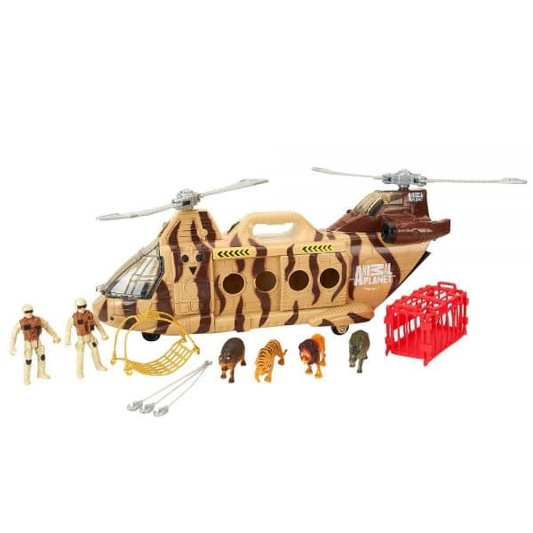 Animal Planet Wildlife Rescue Helicopter Set