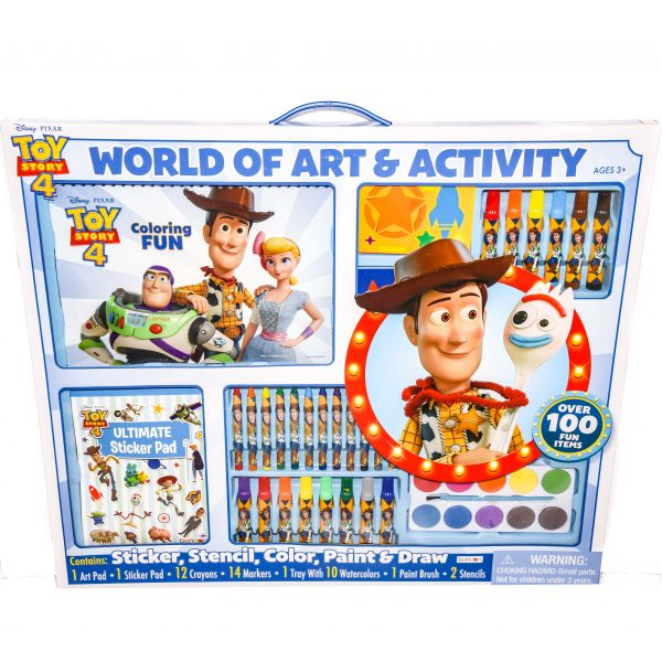 Toy Story 4 World of Art n Activity