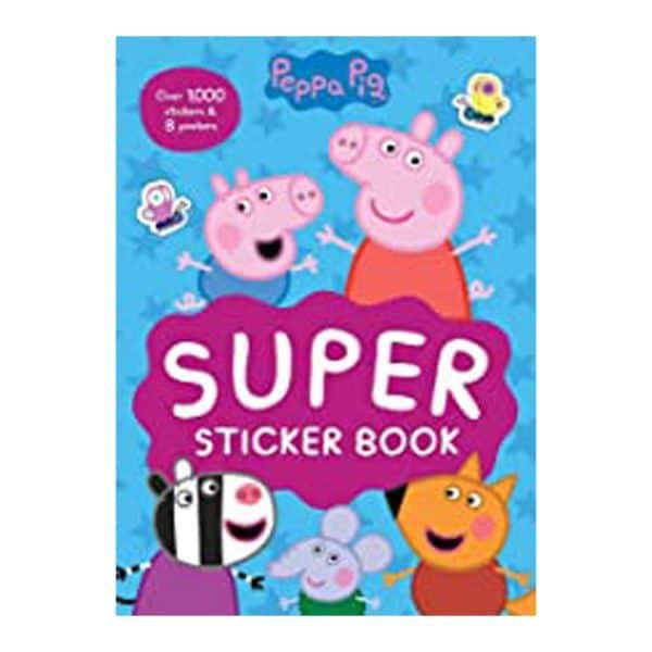 Peppa Pig Super Sticker Book Paperback