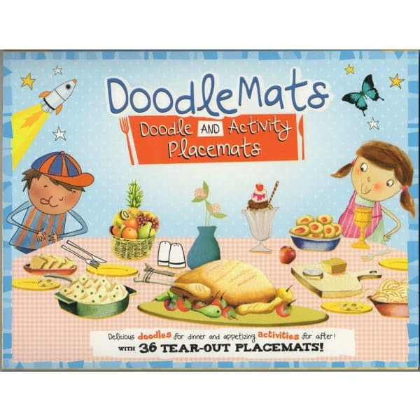 Doodle n Activity Placemats with 36 Tear Out Placemats